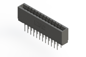 737-024-522-201 - Press-fit Card Edge Connector