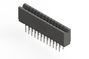 737-024-522-206 - Press-fit Card Edge Connector