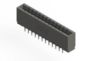 737-024-525-201 - Press-fit Card Edge Connector