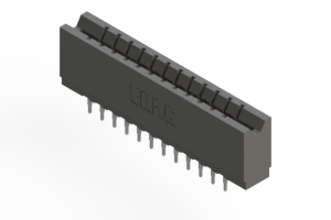 737-024-525-206 - Press-fit Card Edge Connector