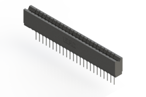 737-024-540-106 - Press-fit Card Edge Connector
