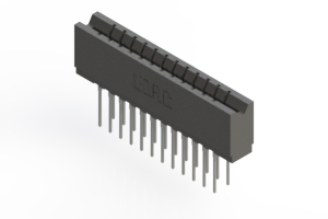 737-024-540-206 - Press-fit Card Edge Connector