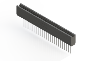 737-024-541-106 - Press-fit Card Edge Connector