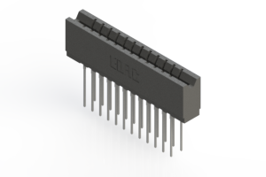 737-024-541-206 - Press-fit Card Edge Connector