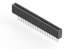 737-024-545-101 - Press-fit Card Edge Connector