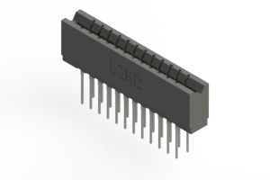 737-024-545-206 - Press-fit Card Edge Connector