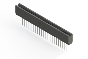 737-025-541-106 - Press-fit Card Edge Connector