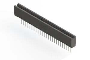 737-025-545-106 - Press-fit Card Edge Connector