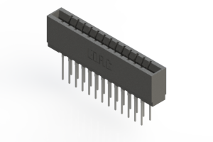 737-026-540-201 - Press-fit Card Edge Connector