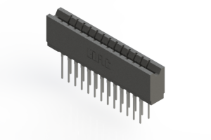 737-026-540-206 - Press-fit Card Edge Connector