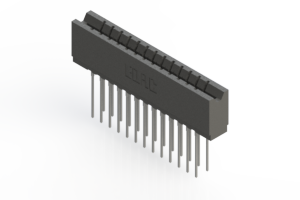 737-026-541-206 - Press-fit Card Edge Connector