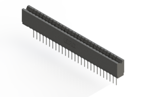 737-027-540-106 - Press-fit Card Edge Connector