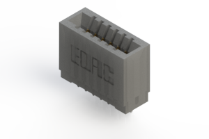 745-006-525-101 - Press-fit Card Edge Connector