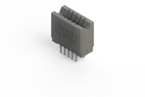 745-010-541-206 - Press-fit Card Edge Connector