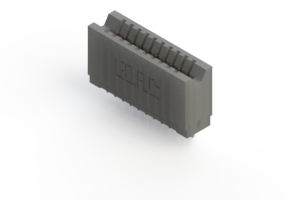 745-010-545-106 - Press-fit Card Edge Connector