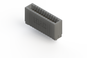 745-011-545-101 - Press-fit Card Edge Connector