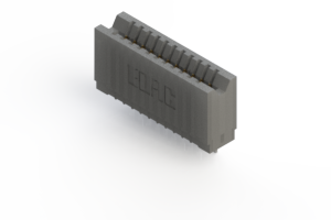 745-011-545-106 - Press-fit Card Edge Connector