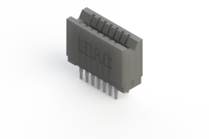 745-014-540-206 - Press-fit Card Edge Connector