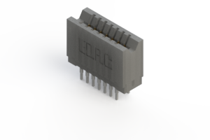 745-014-545-206 - Press-fit Card Edge Connector