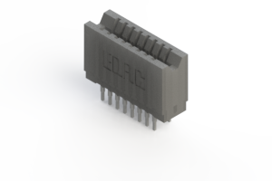 745-016-540-206 - Press-fit Card Edge Connector