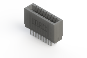 745-018-522-201 - Press-fit Card Edge Connector