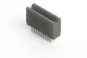 745-018-540-206 - Press-fit Card Edge Connector