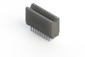 745-018-545-206 - Press-fit Card Edge Connector