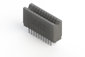 745-020-522-206 - Press-fit Card Edge Connector