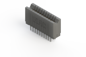 745-020-545-206 - Press-fit Card Edge Connector