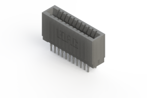 745-022-540-201 - Press-fit Card Edge Connector