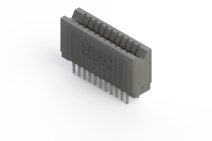 745-022-545-206 - Press-fit Card Edge Connector