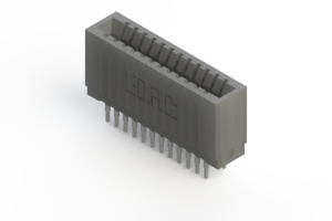 745-024-522-201 - Press-fit Card Edge Connector