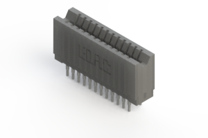 745-024-522-206 - Press-fit Card Edge Connector