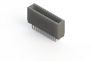 745-024-541-201 - Press-fit Card Edge Connector
