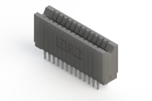 745-026-520-206 - Press-fit Card Edge Connector