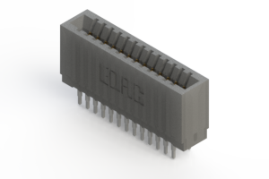 745-026-525-201 - Press-fit Card Edge Connector