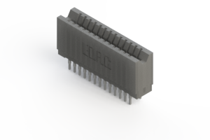 745-026-540-206 - Press-fit Card Edge Connector