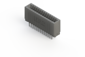 745-026-541-201 - Press-fit Card Edge Connector