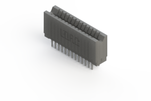 745-026-541-206 - Press-fit Card Edge Connector