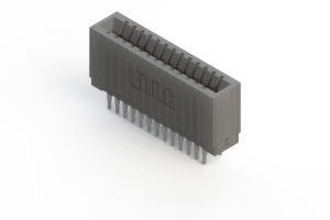 745-026-545-201 - Press-fit Card Edge Connector