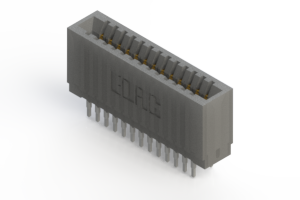 745-026-560-201 - Press-fit Card Edge Connector