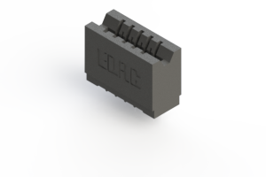 746-005-540-106 - Press-fit Card Edge Connector