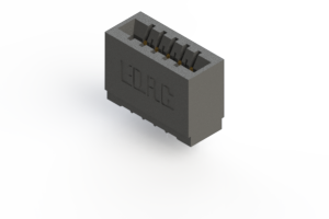 746-005-545-101 - Press-fit Card Edge Connector