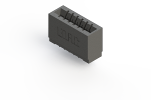 746-006-553-101 - Press-fit Card Edge Connector