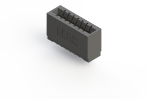 746-007-541-101 - Press-fit Card Edge Connector