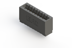 746-008-527-101 - Press-fit Card Edge Connector