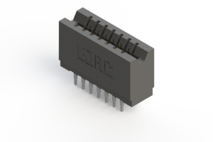 746-014-527-206 - Press-fit Card Edge Connector