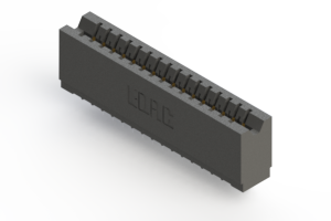 746-016-525-106 - Press-fit Card Edge Connector