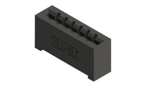 887-006-520-101 - High Temp Card Edge Connector