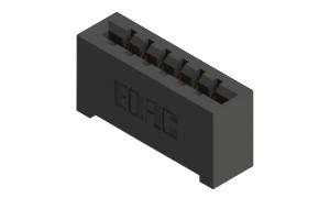 887-006-521-101 - High Temp Card Edge Connector